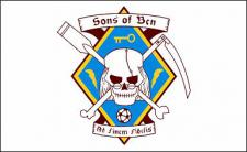 Flagge Fahne Sons of Bcn 90 x 150 cm