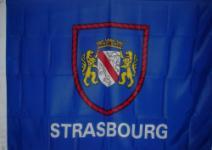 Flagge Fahne Straßburg Wappen 90 x 150 cm