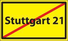 Flagge Fahne Stuttgart 21 90 x 150 cm
