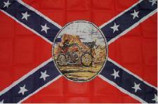 Flagge Fahne Südstaaten Ghostrider 90 x 150 cm