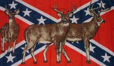 Flagge Fahne Südstaaten Rehe 90 x 150 cm