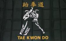 Flagge Fahne Tae kwon do 90 x 150 cm