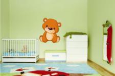 Wandtattoo Teddy Bär Motiv Nr. 1