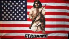 Flagge Fahne USA Geronimo 90 x 150 cm