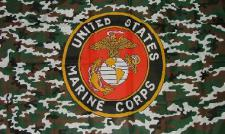 Flagge Fahne US Marine Camouflage 90 x 150 cm
