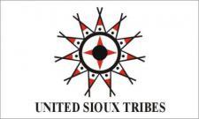 Flagge Fahne United Sioux 90 x 150 cm