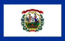 Flagge Fahne West Virginia 90 x 150 cm