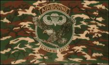 Flagge Fahne Airborne Screaming Eagles 90 x 150 cm