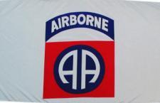 Flagge Fahne Airborne 90 x 150 cm