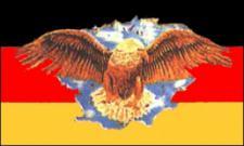 Flagge Fahne Deutschland breiter Adler 90 x 150 cm