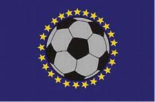 Flagge Fahne Europa Fussball 90 x 150 cm