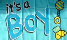 Flagge Fahne It's a Boy 90 x 150 cm