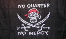 Flagge Fahne Pirat No Quarter No mercy 90 x 150 cm