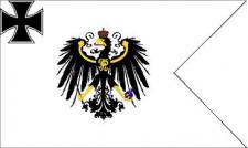 Flagge Fahne Preußen Topflagge LS 90 x 150 cm