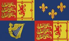 Flagge Fahne Royal Banner 1707 - 1714 90 x 150 cm