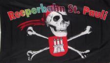 Flagge Fahne Reeperbahn St. Pauli 90 x 150 cm