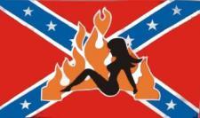 Flagge Fahne Südstaaten Lady 90 x 150 cm