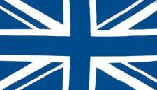 Flagge Fahne Grossbritannien blau 90 x 150 cm