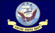 Flagge Fahne US Navy 90 x 150 cm