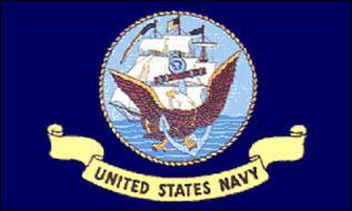 Flagge Fahne US Navy 90 x 150 cm - Vorschau