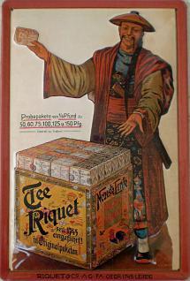 Riquet - Tee Blechschild