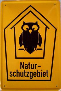 Naturschutzgebiet Blechschild