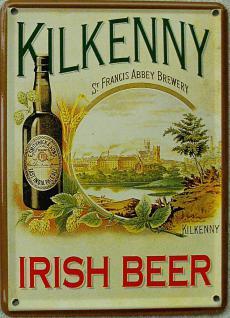 Kilkenny Irish Beer Mini Blechschild