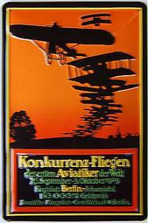 Deutsche Flugplatz-Gesellschaft Blechschild