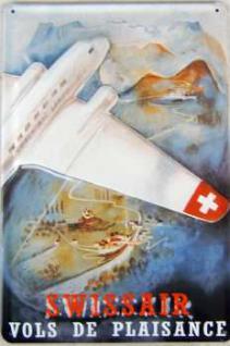 Swiss Air Blechschild