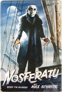 Nosferatu Blechschild - Vorschau