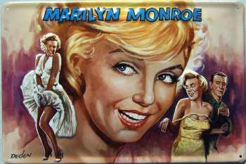 Marilyn Monroe Blechschild - Vorschau