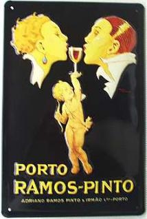 Porto Ramos Pinto Blechschild - Vorschau