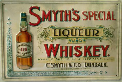 Smiths Special Liquer Whiskey Blechschild