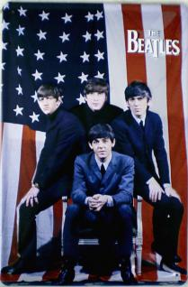The Beatles - US Flagge Blechschild