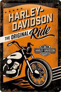 Harley-Davidson - The Original Ride Blechschild