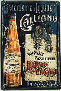 Galliano Blechschild