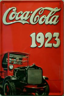 Coca Cola 1923 Blechschild