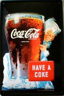 Coca Cola Have a Coke Blechschild