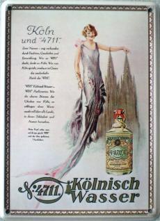 4711 Kölnisch Wasser (Dom) Mini Blechschild