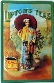 Liptons Teas Blechschild - Vorschau