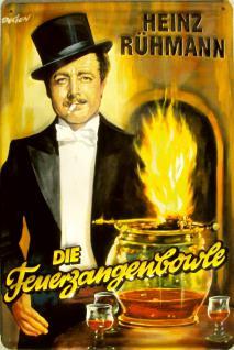 Heinz Rühmann Die Feuerzangenbowle Blechschild