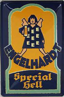 Engelhardt Special Hell Blechschild - Vorschau