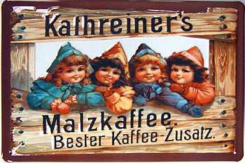 Kathreiner's Malzkaffee Blechschild - Vorschau