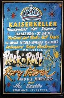Kaiserkeller Hamburg St.Pauli Blechschild - Vorschau