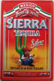 Sierra Tequila Blechschild - Vorschau