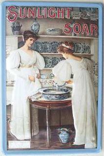 Sunligth Soap Blechschild - Vorschau