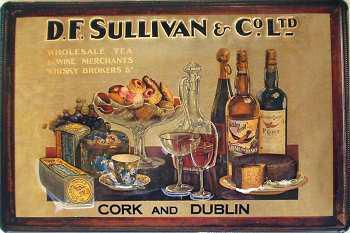 D.F. Sullivan & Co. Ltd Blechschild