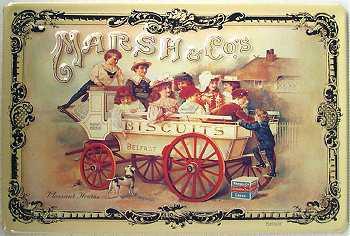 Marsh & Co Biscuits Blechschild - Vorschau