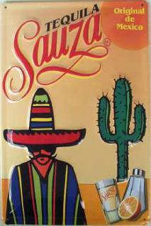 Tequila Sauza Blechschild