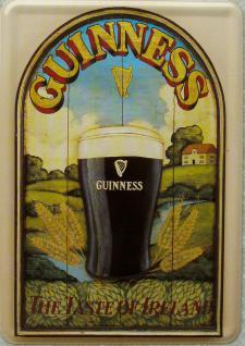 Blechpostkarte Guinness The Taste of Ireland